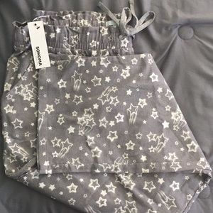 Star pajama bottoms